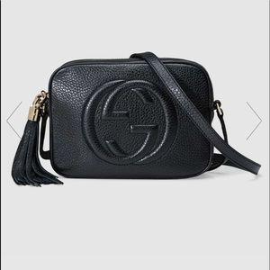 Gucci Soho small leather disco bag. Crossbody